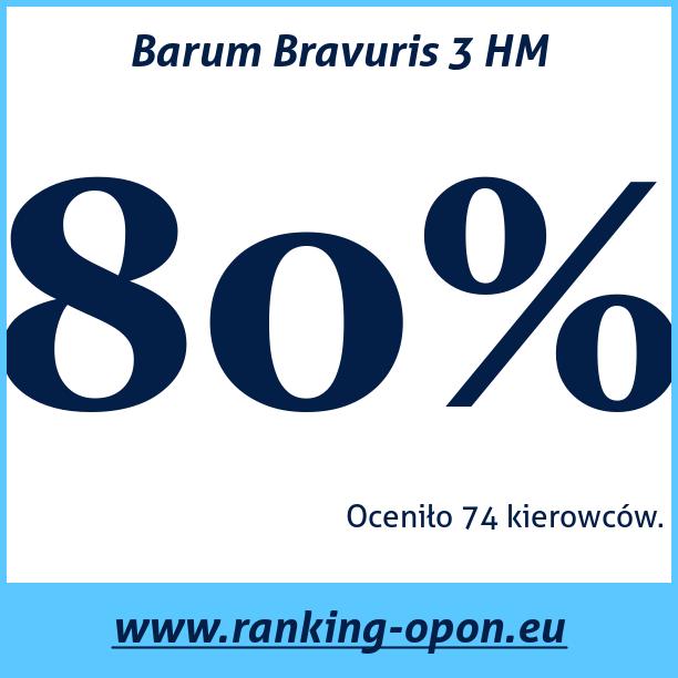 Test pneumatik Barum Bravuris 3 HM