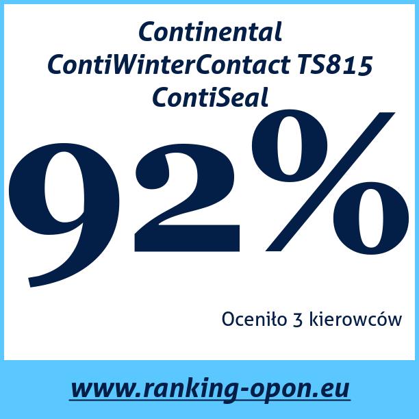 Test pneumatik Continental ContiWinterContact TS815 ContiSeal