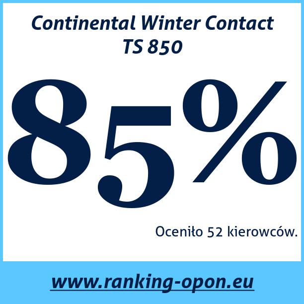 Test pneumatik Continental Winter Contact TS 850