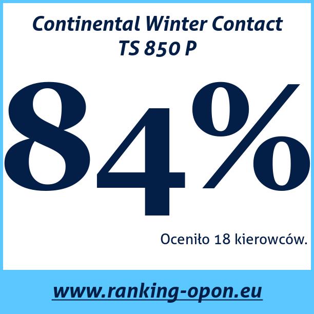Test pneumatik Continental Winter Contact TS 850 P