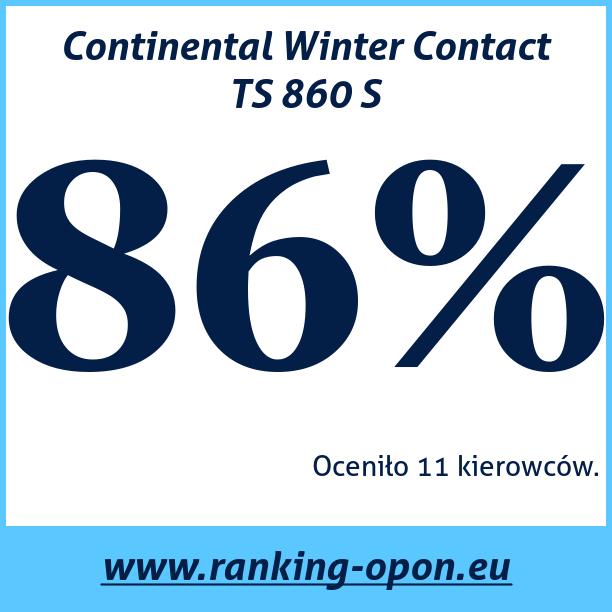 Test pneumatik Continental WinterContact TS 860 S