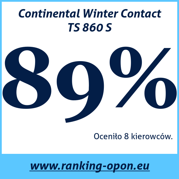 Test pneumatik Continental Winter Contact TS 860 S
