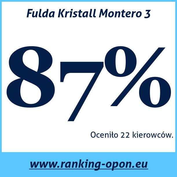 Test pneumatik Fulda Kristall Montero 3