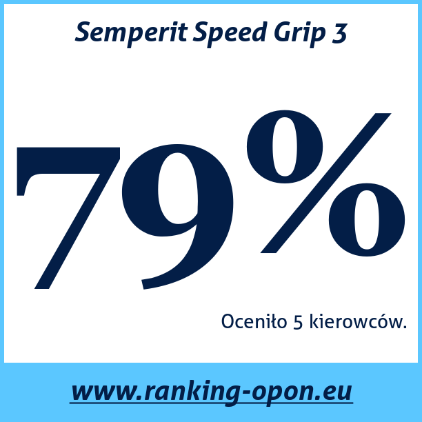 Test pneumatik Semperit Speed Grip 3
